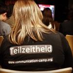 Teilnehmerinnen beim Communication Camp sind Teilzeithelden. Mindestens.
