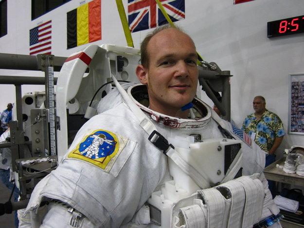 Alexander Gerst wird der dritte Deutsche im All. Foto: ESA.
