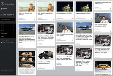 Social Publish von Mercedes Benz: Hochgelobt, aber Probleme mit Mehrfachpostings