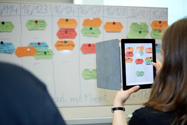 Wir freuen uns schon auf den spannenden Moment der Sessionplanung, hier beim #cosca13. Foto: eBusiness-Lotse