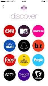 Wer bei Snapchat Nachrichten sehen will, kann dies seit kurzem innerhalb der App tun. Ich vermute: Dies macht nur Mini-Anteil der Nutzer.